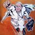 Graffiti del Papa cuervo en Roma