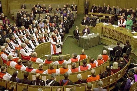 Arzobispo de canterbury y el nacimiento virginal
