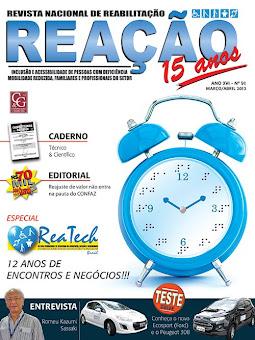 Eu, na Revista Reação!!!