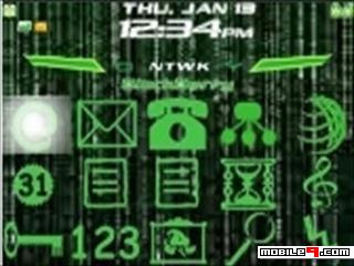 Tema BlackBerry 8520 Matrix Download Tema BlackBerry 8520 Gratis 2012