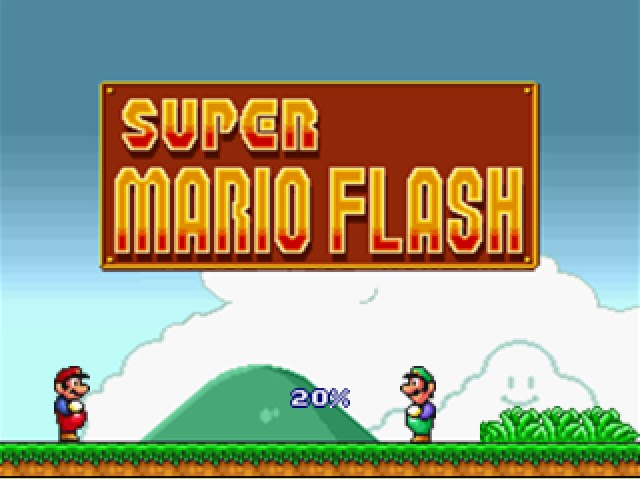 super mario flash online