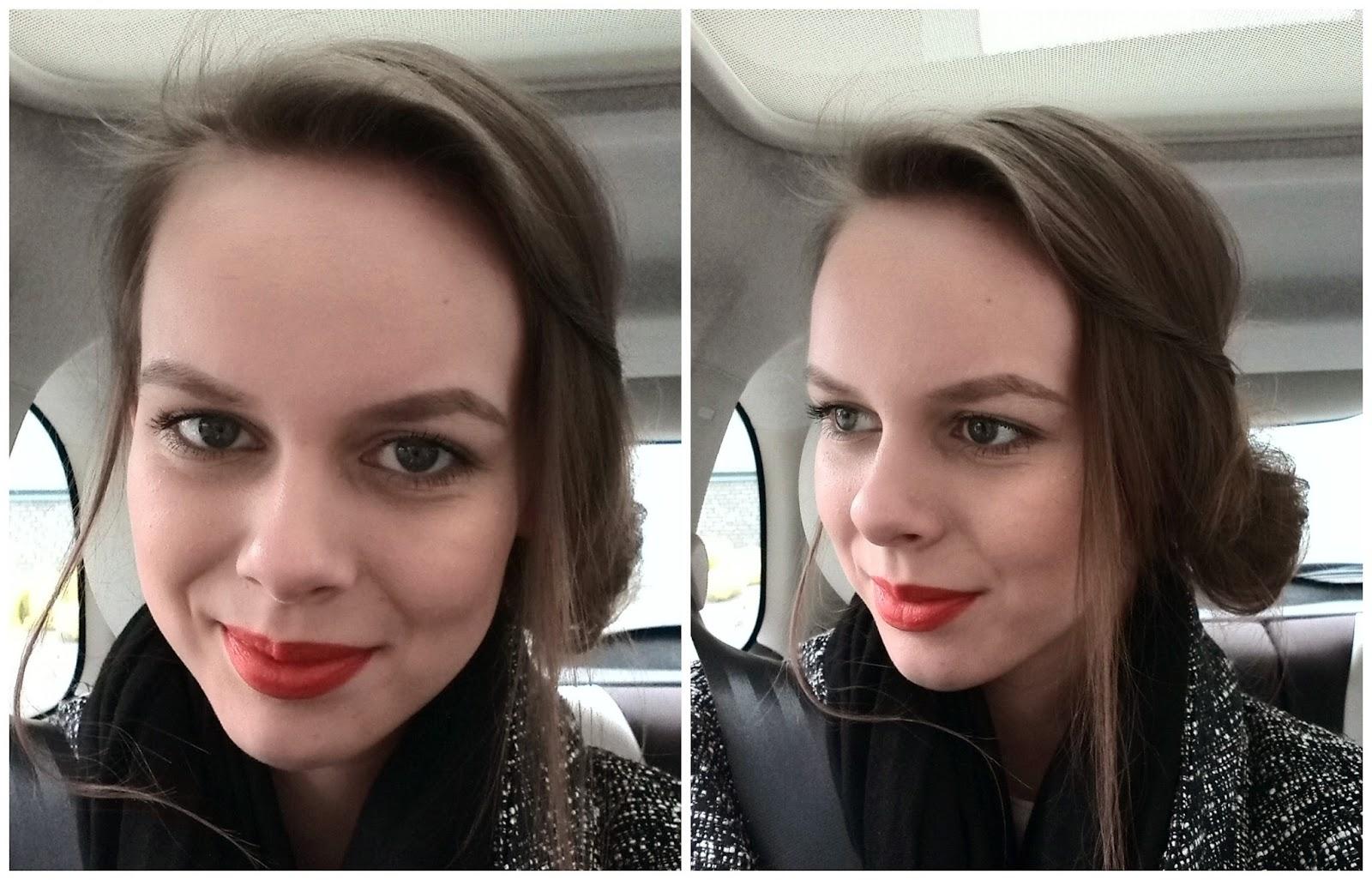 oranje lipstick