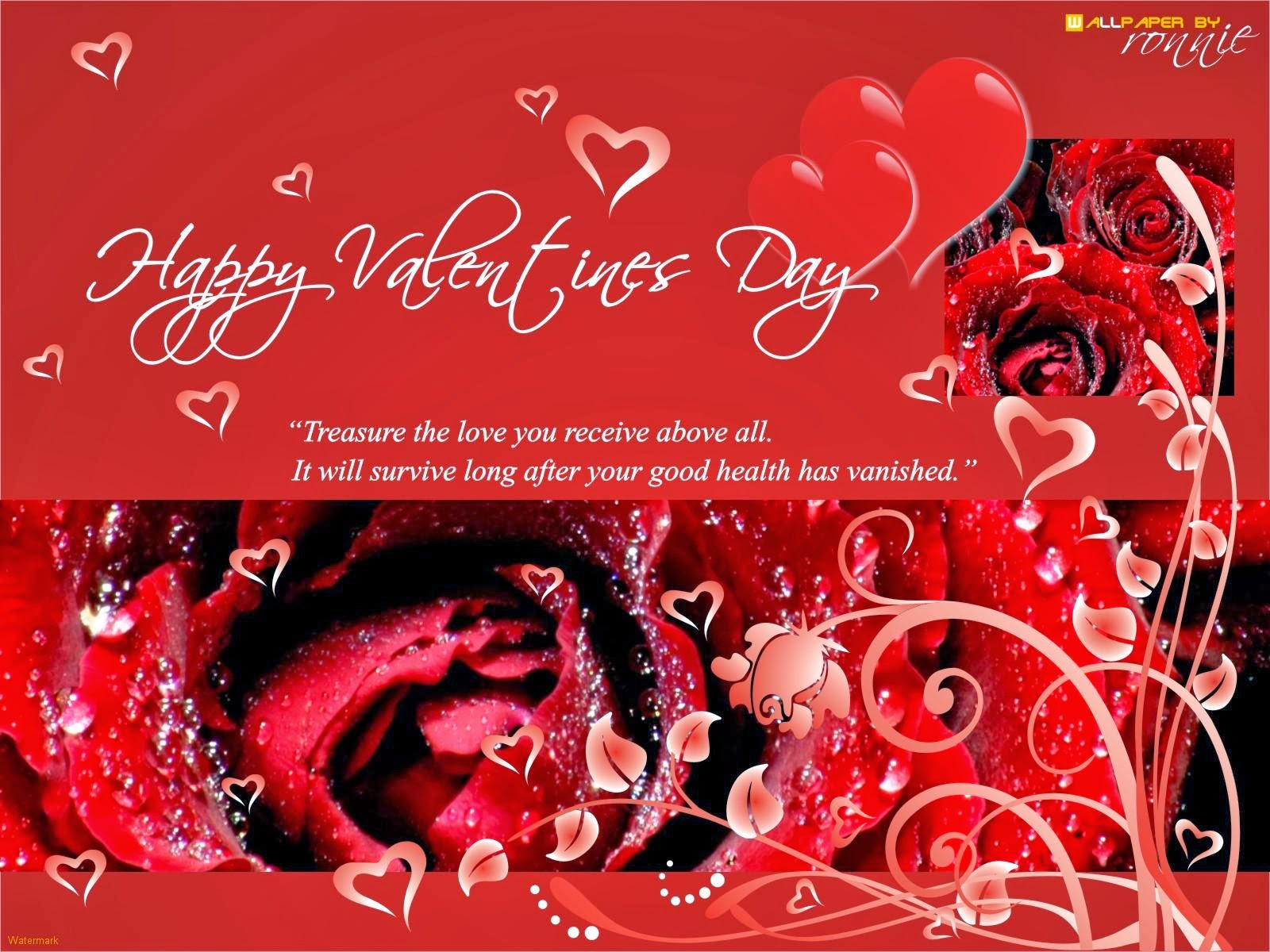 Free Happy Valentines Day Wallpapers