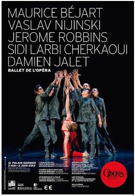 Opéra de Paris - Béjart / Nijinski / Robbins / Cherkaoui, Jalet