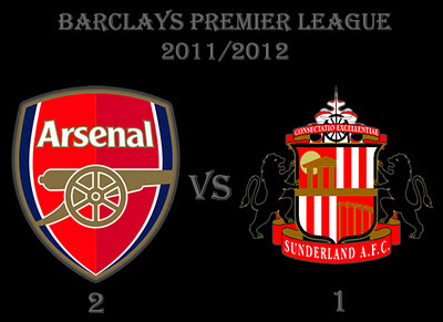 Arsenal vs Sunderland Barclays Premier League Results