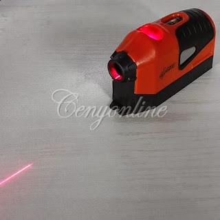 Portable Laser Edge Straight Leveler Line Guided Horizontal Vertical Measure