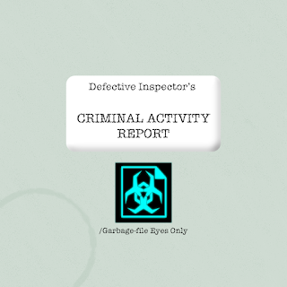 Criminal activity report folder