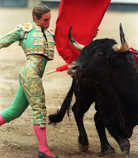 Cristina Sanchez, bullfighter woman