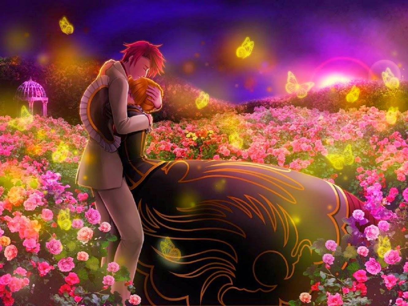 3d Love Couple Wallpapers Free Download