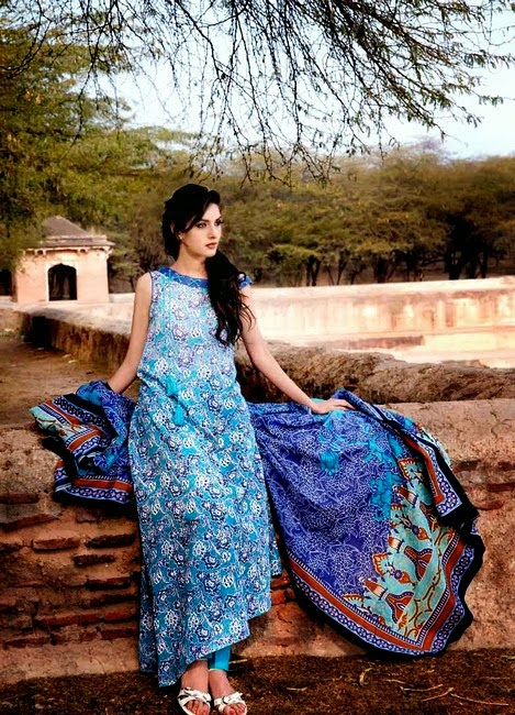 Gul Ahmed Printed Lawn Dresses