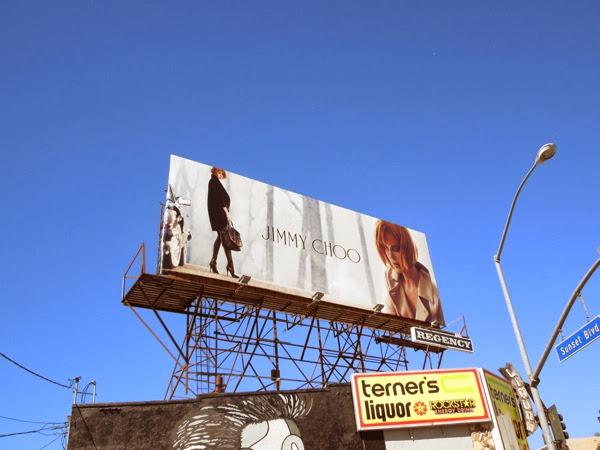 Nicole Kidman Jimmy Choo FW13 billboard