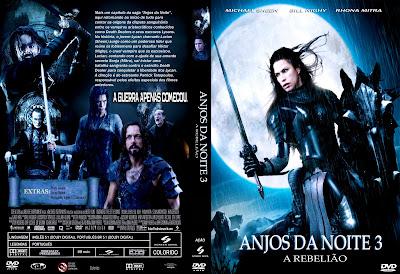 Filme Anjos da Noite 3 A Rebelião DVD Capa