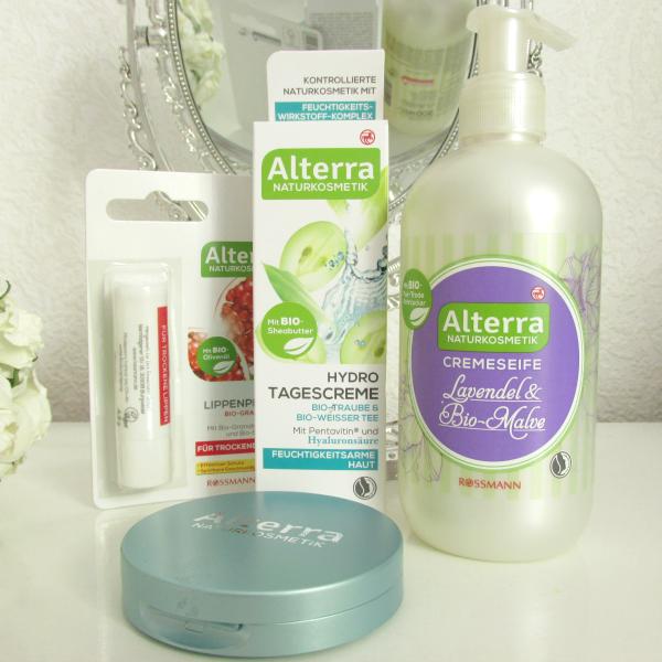 Alterra Naturkosmetik Review, Lippenpflege, Cremeseife, Tagescreme, Kompakt Puder