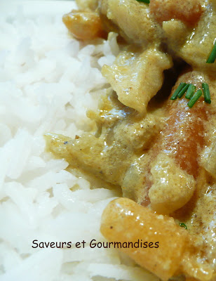 Curry au poisson (express).
