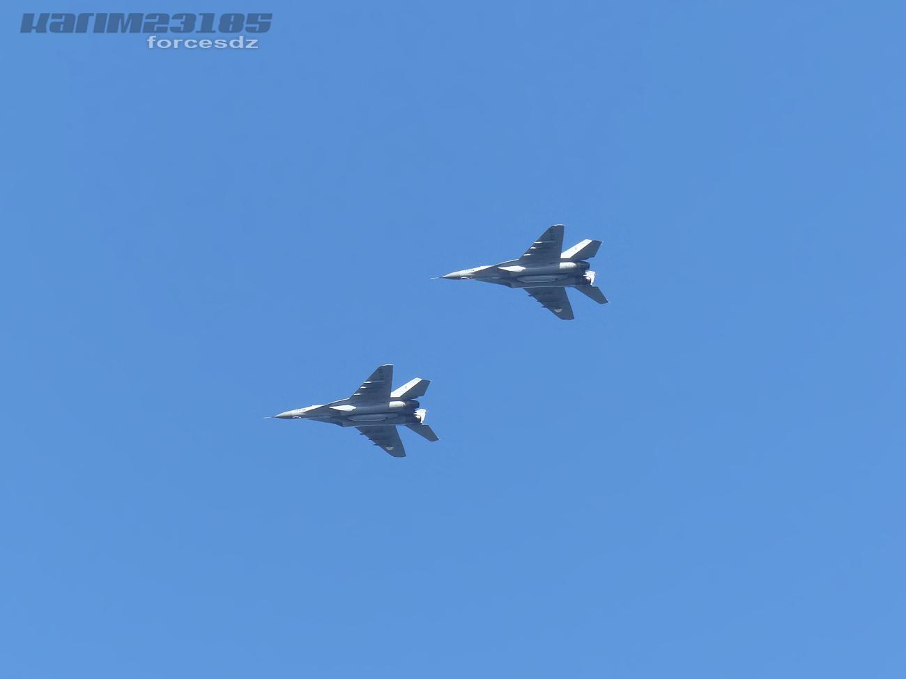 صور طائرات القوات الجوية الجزائرية  [ MIG-29S/UB / Fulcrum ] 5