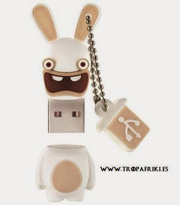USB Rabbids 8GB por 15,25€