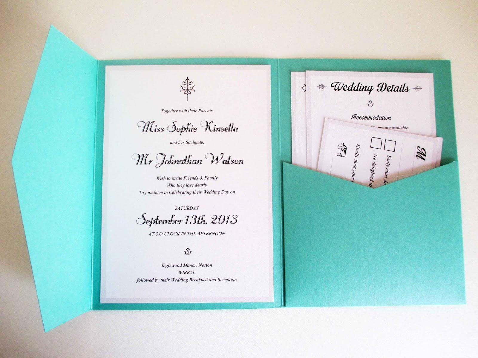 VanillaRetro Stationery: NEW PRODUCTS! Designer Pocketfold Invites...