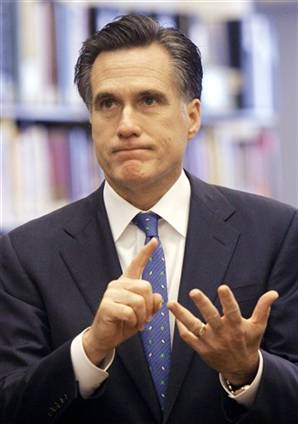 The Pagan Temple: MITT ROMNEY-Future Ten Commandments Of The Once ...