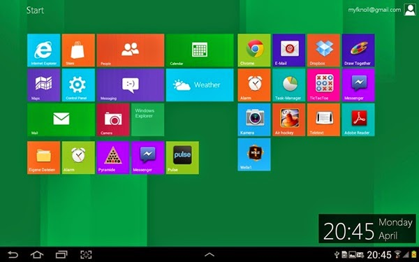 Windows 8 Metro Launcher Pro Apk v1.6.1  Full