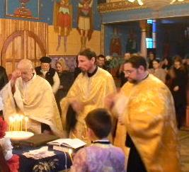 Taina Sf. Maslu si cuvant duhovnicesc cu parintele ieromonah Nifon de la man. Parva, 7 feb. 2016