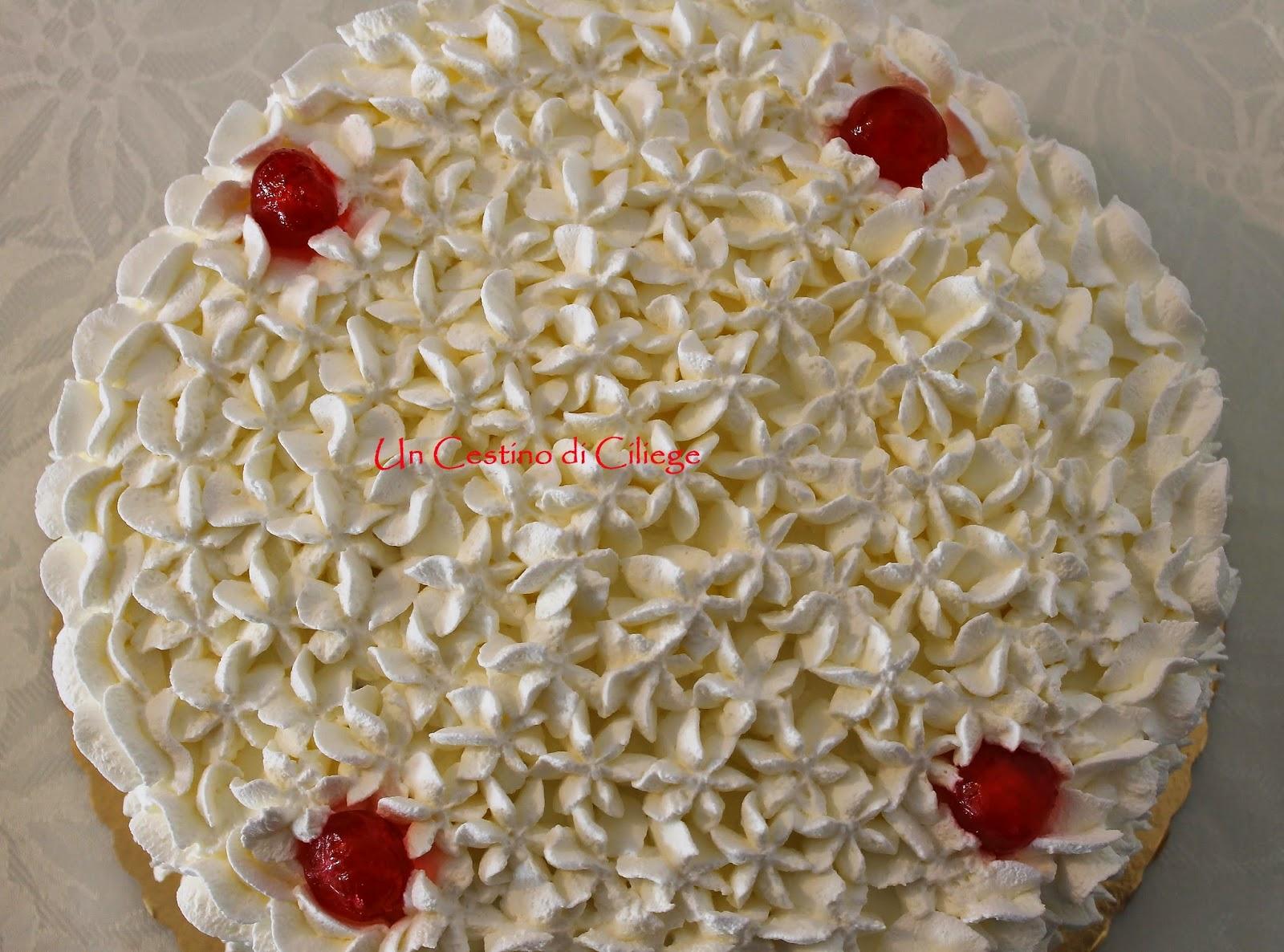 torta crema e panna!