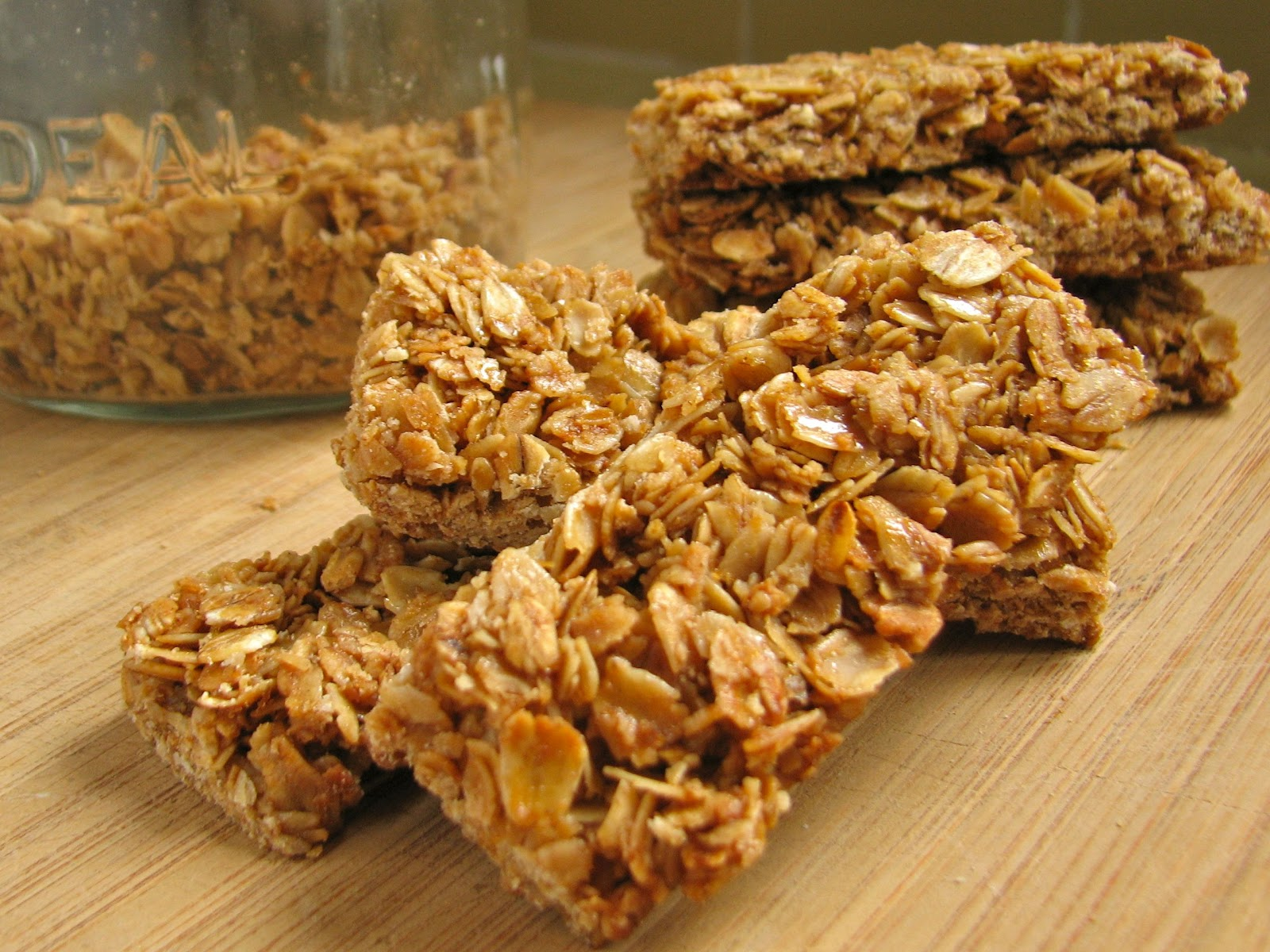 ... me there to find this great granola bar recipe as well as many more