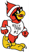 Photo of Wilmington NC Cardinal Strut Mascot