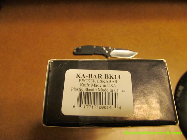 Ka-Bar Becker BK14 EsKabar - Box (Side)