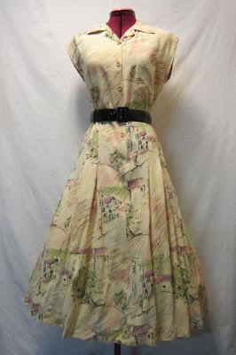 Marshmallow Electra Vintage Dress