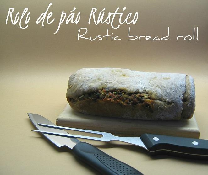Rolo de pão r�...