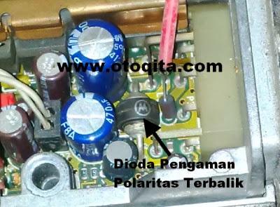 Gambar dioda Pengaman Pada radio Transceiver