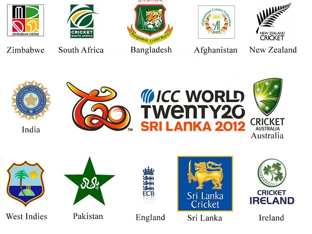 T20 World Cup 2012 Teams