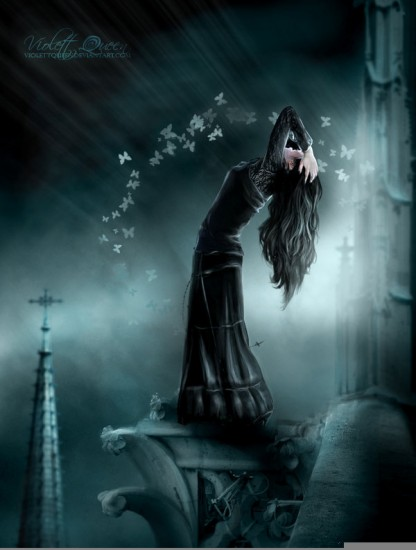 gothic art fantasy artwork - photo #30