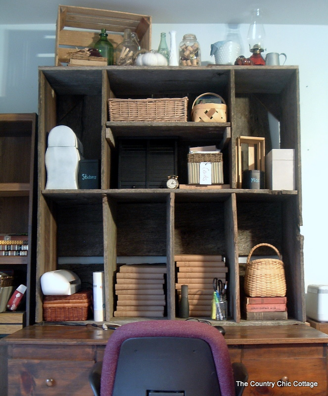 Barnwood Furniture My Desk Hutch The Country Chic Cottage