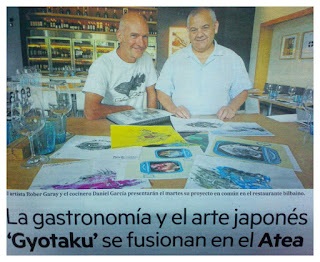 Atea Gyotaku Foodsessions, Bilbao, Daniel García, Gyoptaku, La cocina del Mar, Robert Garay,
