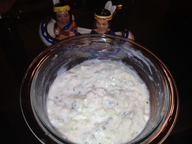 Tzatziki (Greek Cucumber Salad)