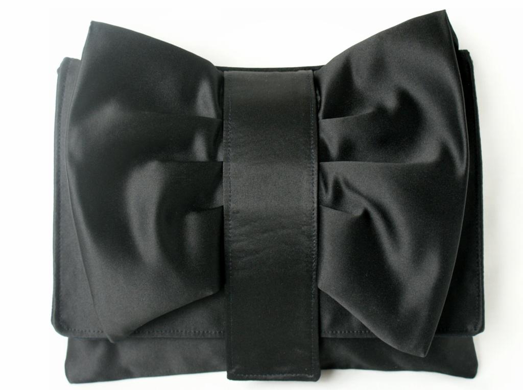 Выкройки сумки из ткани: Клатч-переделка из атласа на