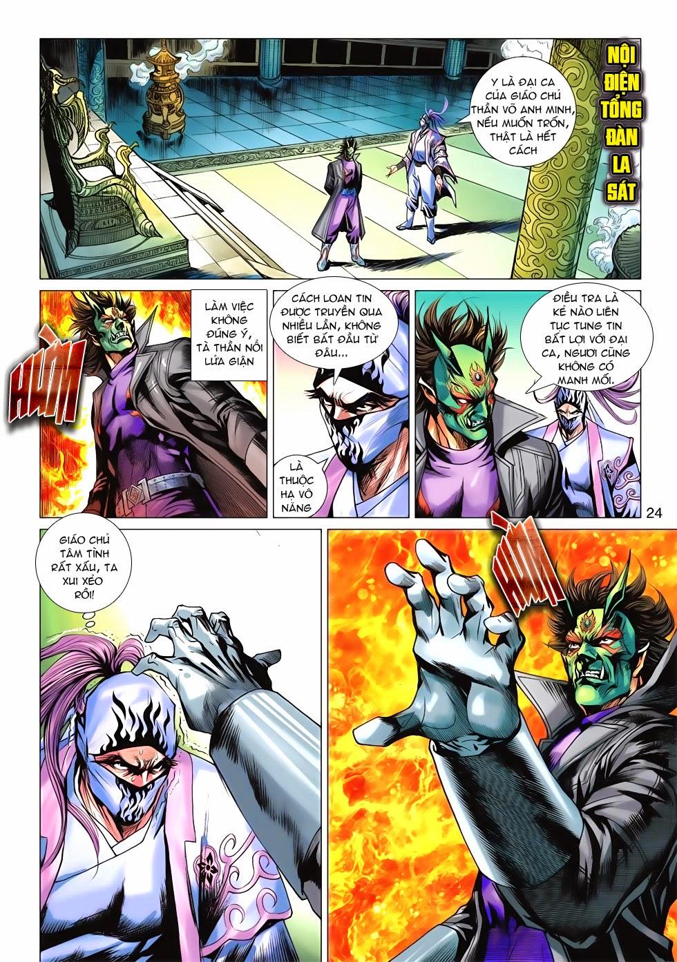 Tân Tác Long Hổ Môn chap 675 - Trang 23