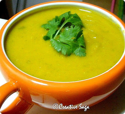 leek and carrot soup