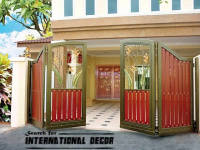 gate designs gate designs for private house and garage modern gate
