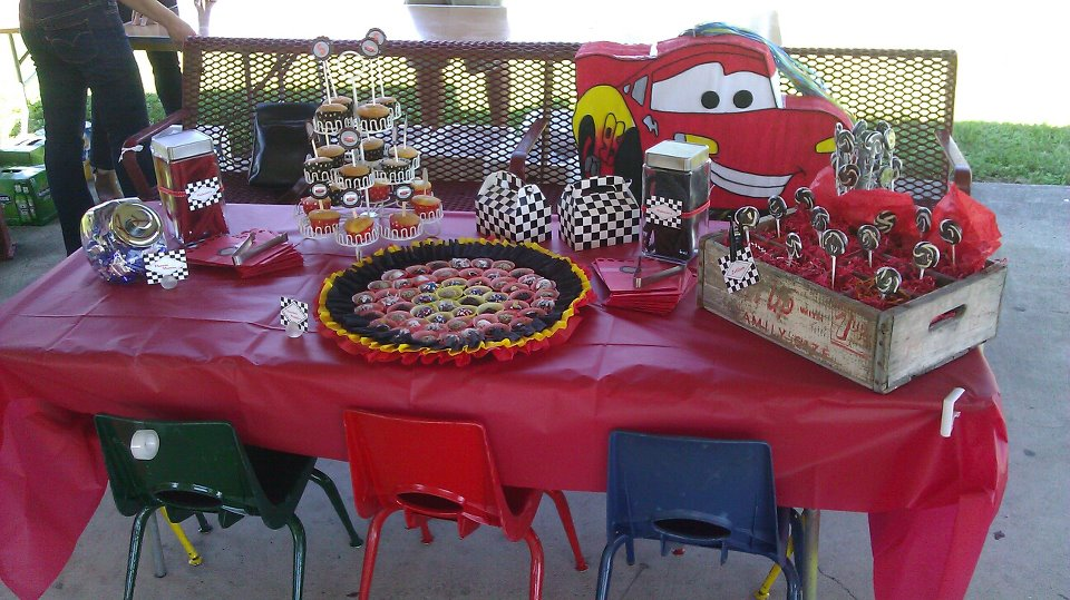 IPS Event Planners Vroom Cars 2 5th Birthday Party