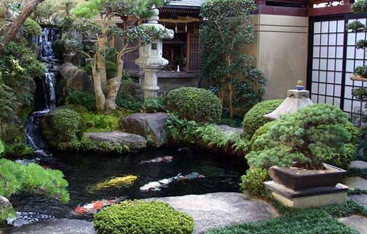 Desain Taman dengan Air Mancur untuk Rumah Minimalis | Desain Rumah ...