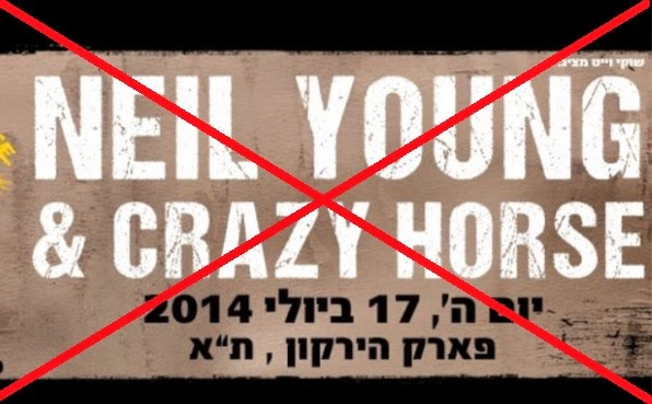 Neil Young & Crazy Horse Tel Aviv 2014