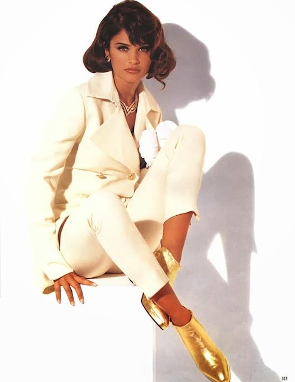 Helena Christensen vogue italia 1992