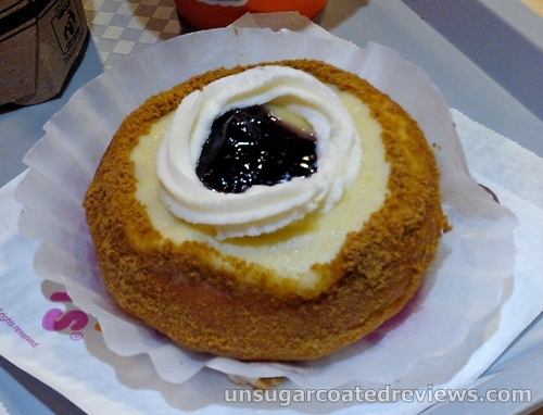 Dunkin Donuts blueberry cheese premium donut