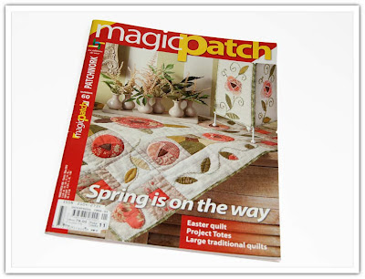 Tidning, Magic Patch