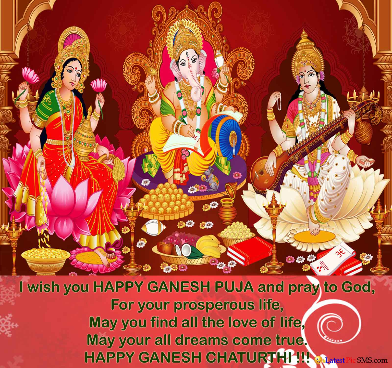 Greetings on ganesh chaturthi Photo