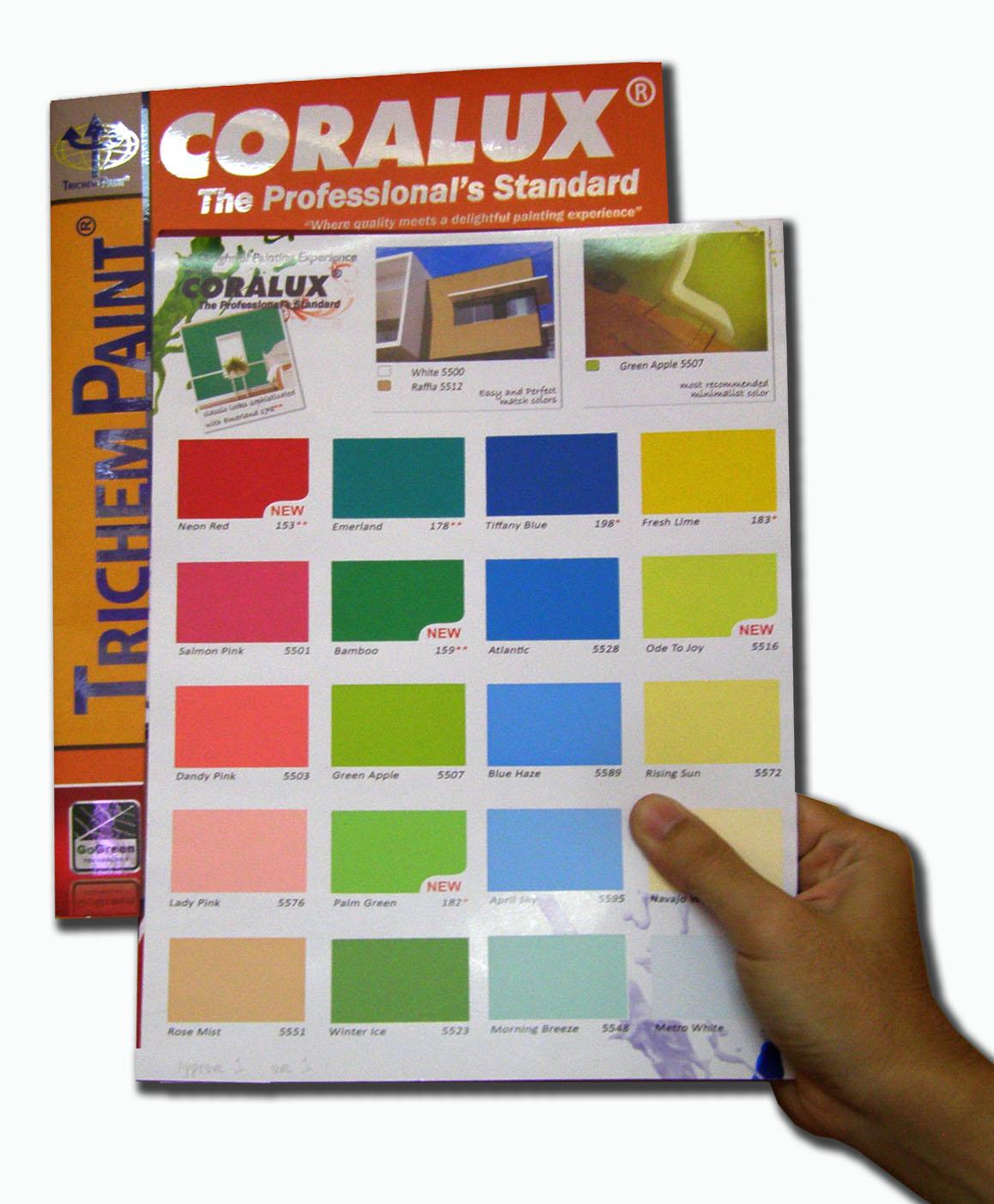 sukses mandiri teknik contoh gambar warna cat rumah