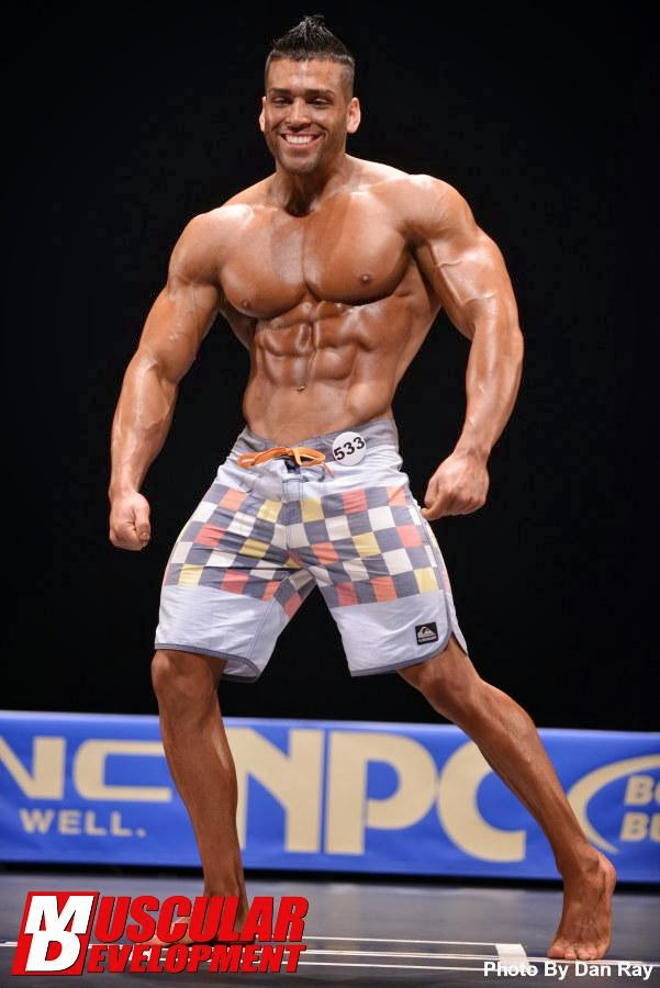 Gerardo Mangual - Physique Competitor - Fitness Model - Part 2