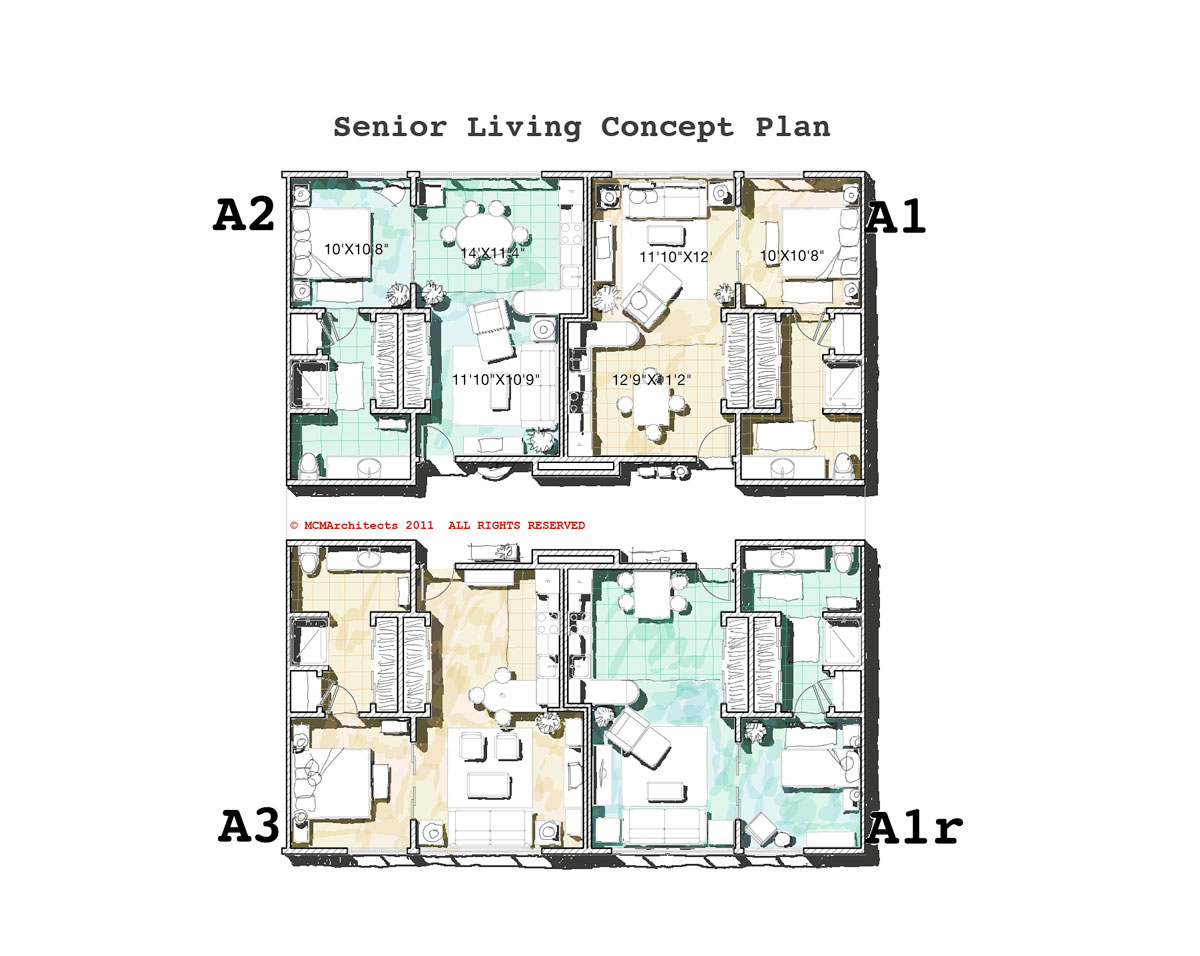 Mcm Design Senior Living Plans